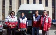همدردی گردشگران سوئیسی با زلزله زدگان کرمانشاه