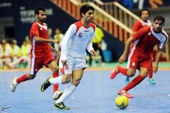 برتری پرگل تیم ملی فوتسال ایران برابر ازبکستان