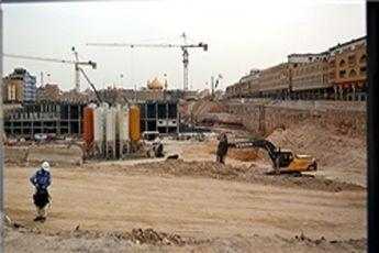 بازدید رئیس جمهور از مراحل ساخت صحن حضرت زهرا(س)
