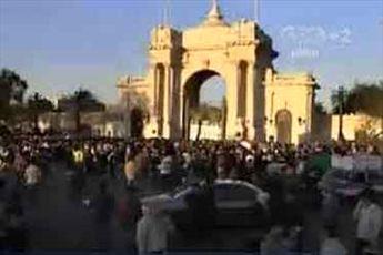 میدان التحریر و اطراف کاخ القبه مملو از مخالفان مرسی