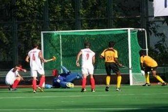 صعود تیم ملی هاکی چمنی ایران به بازی های آسیایی کره جنوبی
