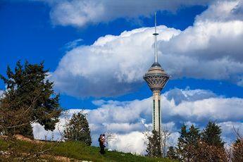 بالاخره این سرما و برف کار خودش را کرد / هوای تهران پاک!