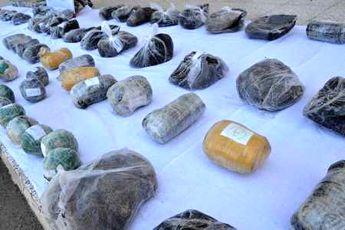 کشف بیش از 741 کیلوگرم مواد مخدر در سیستان و بلوچستان