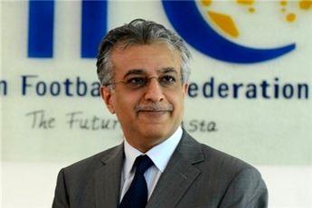 تشکر رسمی رئیس AFC از کفاشیان