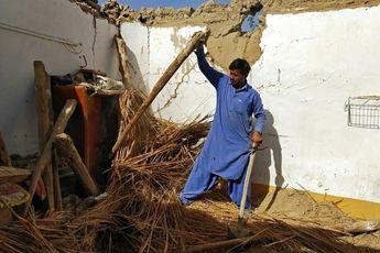 زمین لرزه ی 5.9 ریشتری پاکستان را لرزاند