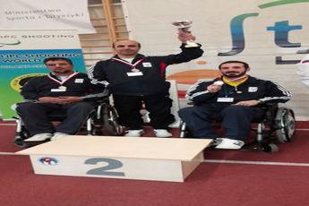 کسب دومین نشان نقره تیمی در سومین روز مسابقات / کاروان ایران چهار مداله شد