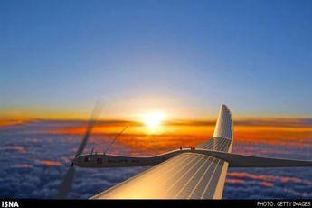 پهپاد خورشیدی با قابلیت پرواز ۵ سال + عکس