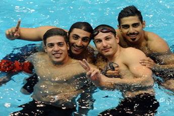 هشتمی بیداریان در شنای ۱۰۰ متر آزاد
