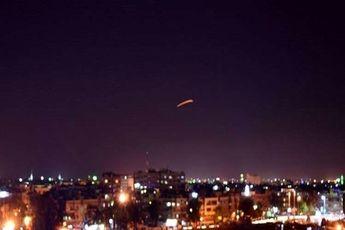 واکنش پدافند سوریه به حملات صهیونیستها