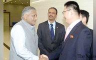 سفر نخستین مقام هندی به کرهشمالی بعد از 20 سال