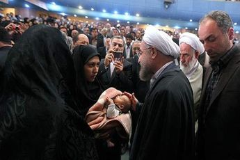 """نام فرزندم را به امید آزادی پدرش """" امیدرضا """" گذاشتم / درخواست از مسئولان"""