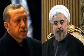 تماس تلفنی روحانی و اردوغان
