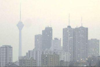 بهبود وضعیت آلودگی هوای تهران