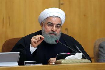 روحانی: ممنوعیت ورود برخی کالاها به کشور فرصت بزرگی است