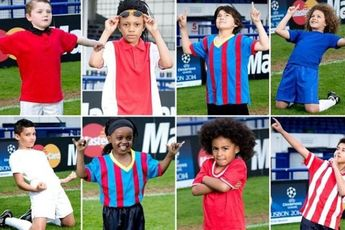 نمایش بدل های کوچکِ ستاره های بزرگ دنیای فوتبال + تصاویر و فیلم
