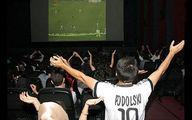 فروش 5 هزار بلیت سینما برای تماشای فوتبال