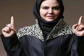 اولین زنی که در آزادی مجری گری کرد